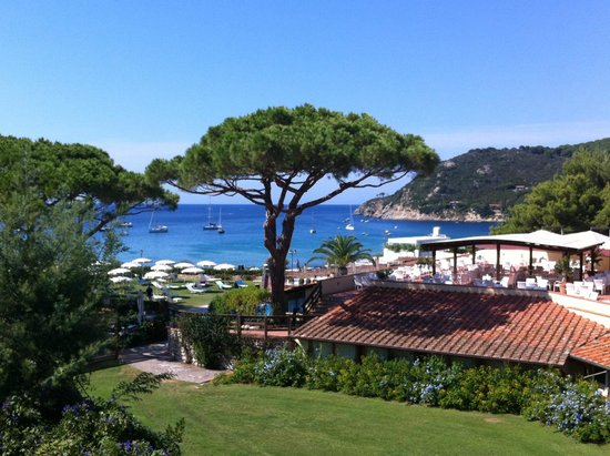 Hotel Biodola : vista camera