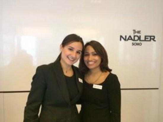 The Nadler Soho: Fantastic Nadler staff