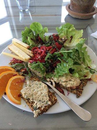 Prana Kafe : salad