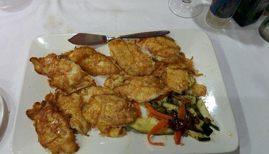 Restaurante El Campanu: colitas de rape al estilo campanu, muy grande la racion.