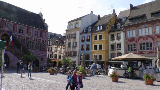 Kyriad Mulhouse Centre : Plaza de Mulhouse