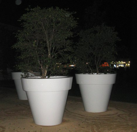 Kempinski Palace Portoroz: Gardens at night