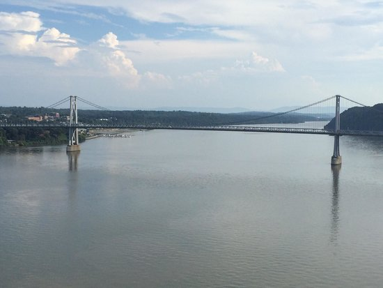 Walkway Over the Hudson State Historic Park: Mid Hudson Bridge from Walkway