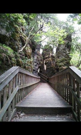 Orangeville, Canadá: Wooden walk