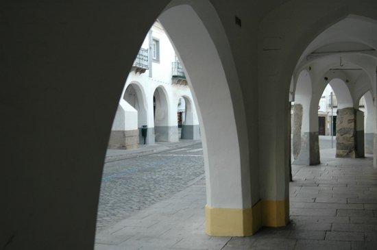 Medieval Arcades of Evora