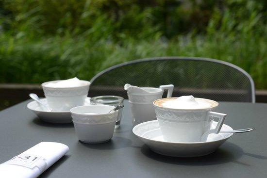 i31 Hotel: Café im Garten