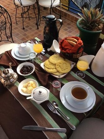 Dar Salam: Begin your day with the moroccan hospitality
