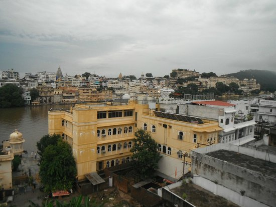 Panorama Guest House : View from the rooftop restaurant