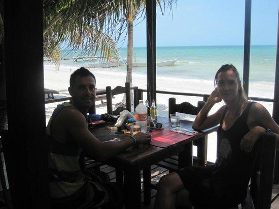 Casa Nostra Restaurant : vista mare