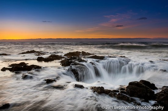 Cape Perpetua Scenic Area : Thor's Well