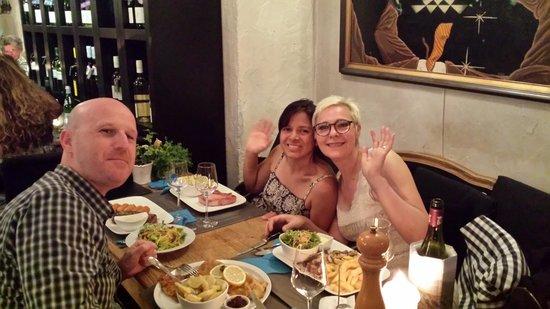 Alt Coblenz : Cena con amici