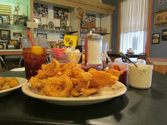 Orsak's Cafe: famous for their fried catfish