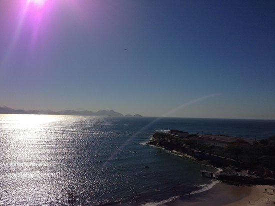 Orla Copacabana Hotel: Vista do forte de Copacabana