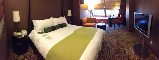 Grand InterContinental Seoul Parnas: nice comfy room.