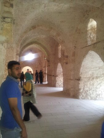 Fort Qaitbey: Lots of passage ways to explore!
