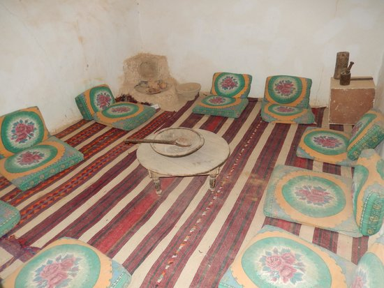 The Traditional Siwa House: sala del the