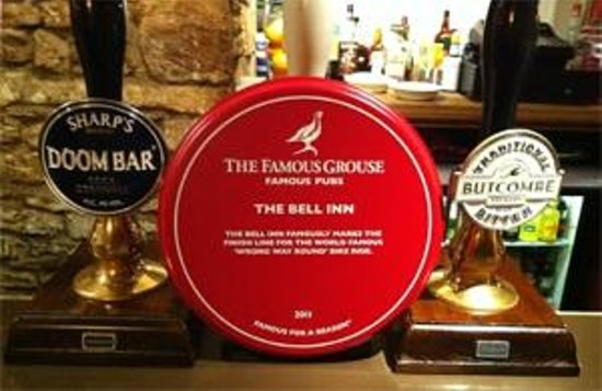 The Bell Inn: Selection of Bitters