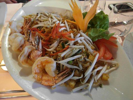 Mai Thai: pad thai was good