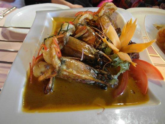Mai Thai: Shrimp was delicious
