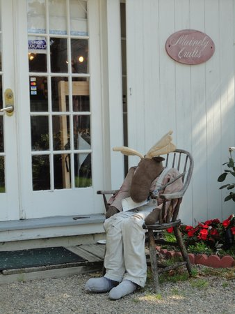 Waldo Emerson Inn: Chilling out...