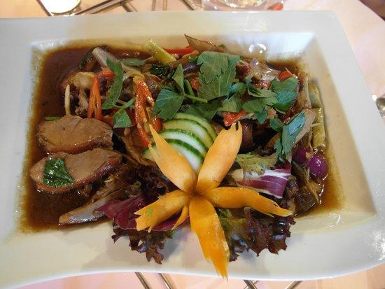 Mai Thai: Duck dish