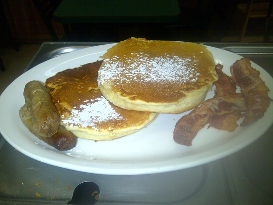 Grimm's Gourmet & Deli : yummy pancakes