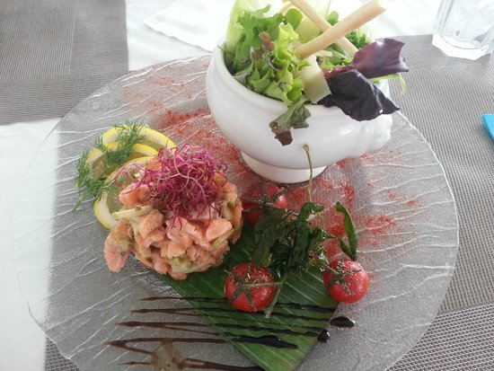 Star Plage : tartar combination