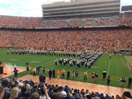 University of Tennessee : The Big T - UT Marching Band