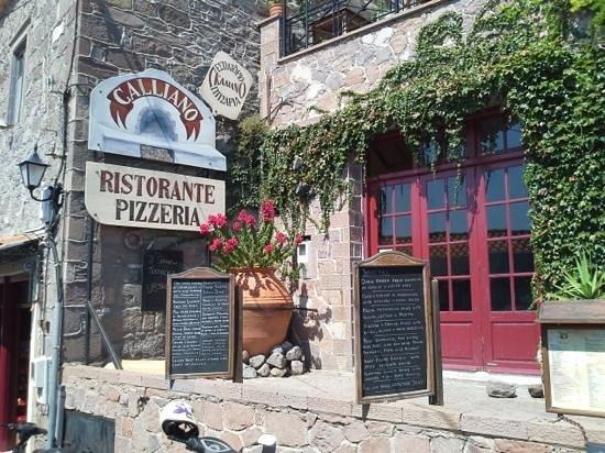 Galliano: Very good pizza house