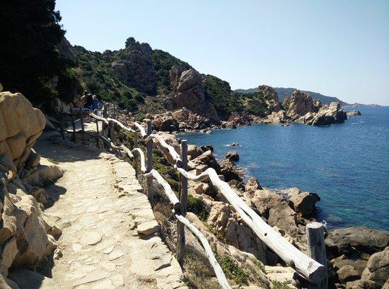 Costa Paradiso Sardegna Cartina Geografica.Passerella Di Legno Per Arrivare A Li Cossi Foto Di Costa Paradiso Sardegna Tripadvisor