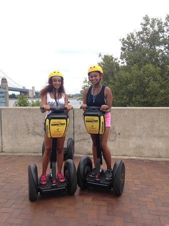 Philadelphia Segway Tours by Wheel Fun Rentals: My teenage niece and friend had a blast!