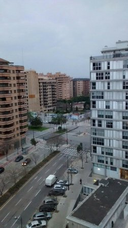 Tryp Valencia Oceanic Hotel: View from the room