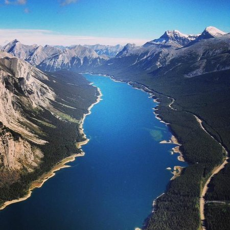 Canmore, Canada: Blue rivers nestles in the Rockies! Follow me on Instagram: @MatthewGBailey