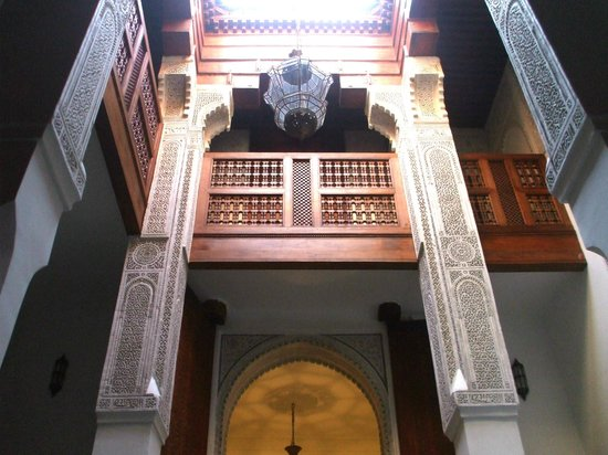 Dar Aquas : Balcony viewed from Courtyard