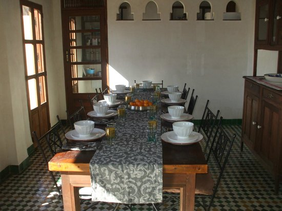 Dar Aquas : Dining Room