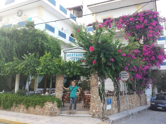 Uncle George Apartments: My Love at the Best Hotel in Crete! ;)