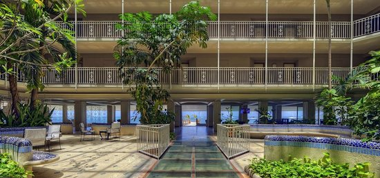 Le Beach Hotel: Lobby
