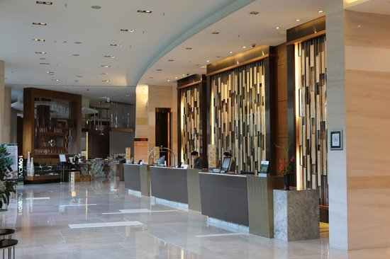 Courtyard by Marriott Seoul Times Square : Lobby Area
