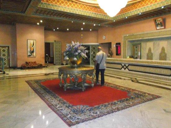 Ryad Mogador Kasbah : ingresso hotel e ricevimento