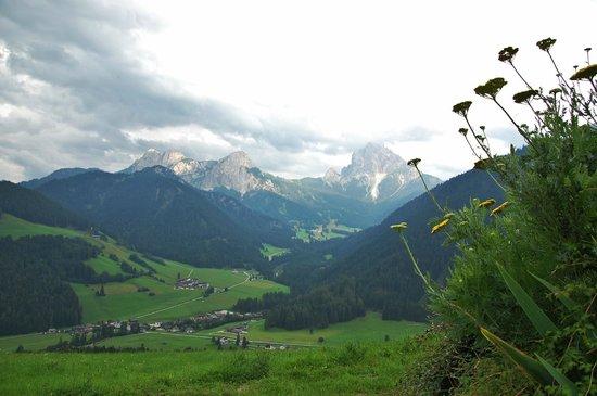 Moserhof Agriturismo & Ristorante : dalla terrazza comune