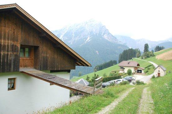 Moserhof Agriturismo & Ristorante : la finestra della nostra camera