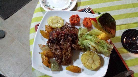Shangri-Lanka Villa : Gorgeous Pork Chops.....
