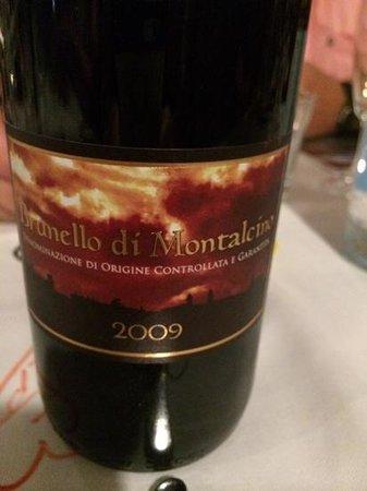 La Cucina del Garga: great wine