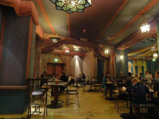 Agrabah Cafe: Decorado.2