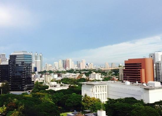 Centre Point Hotel Chidlom: Spectacular view of Bangkok from guestroom