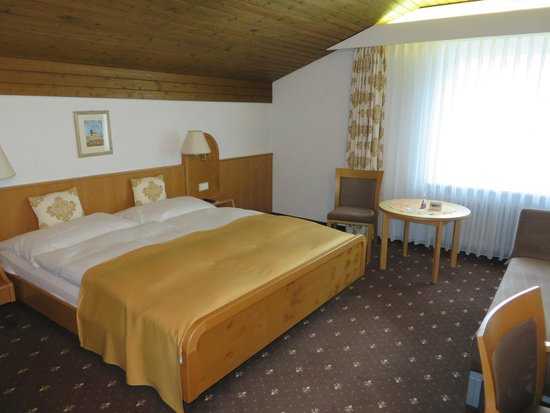 Christiania Mountain & Spa: Comfy, large bed