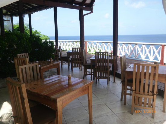 Ti Kaye Resort & Spa: The Main Restaurant