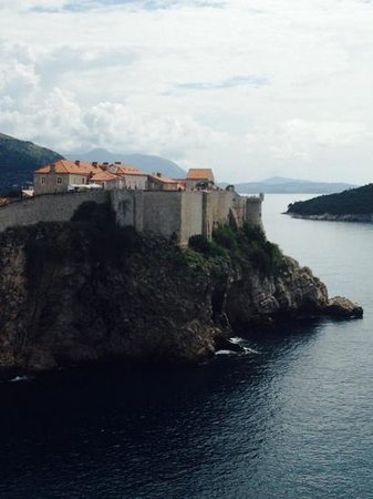 Fort Lovrijenac: View from the Fort