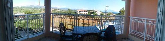 Arkadia Hotel : terrazzino