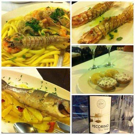 Fossacesia Marina, Italy: Erano troppi piatti li ho messi tutti insieme
